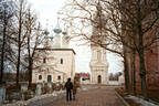 A street of the ancient city of Suzdal, on Moscow's famous Golden Ring.